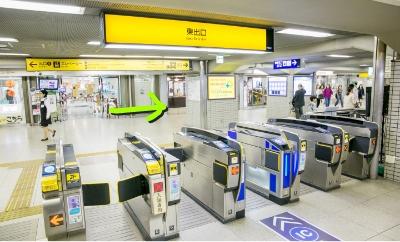 京阪本線「枚方駅」東出口を出て右へ。